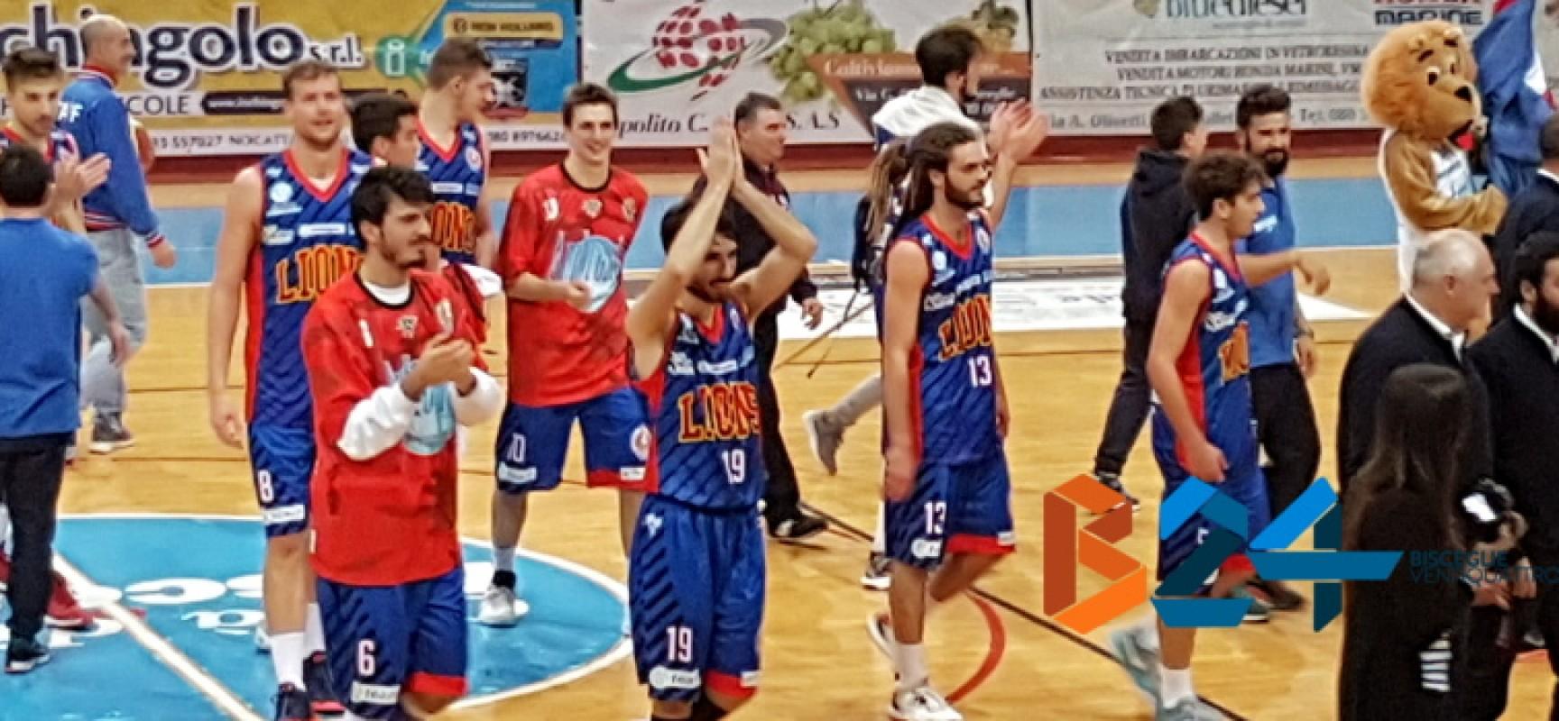 Ruggito Lions Basket, battuta nettamente Giulianova al Paladolmen