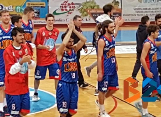 Lions Basket Bisceglie, vittoria a Monteroni e storica qualificazione alla Final Eight di Coppa Italia