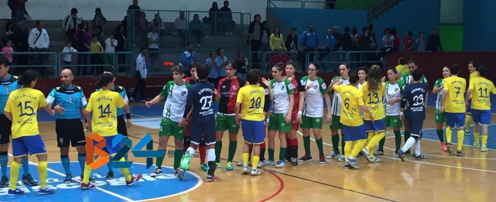 Un'ottima Arcadia sconfitta dal Montesilvano, tris D'alessandro per l'acuto Futsal Bisceglie / CLASSIFICHE