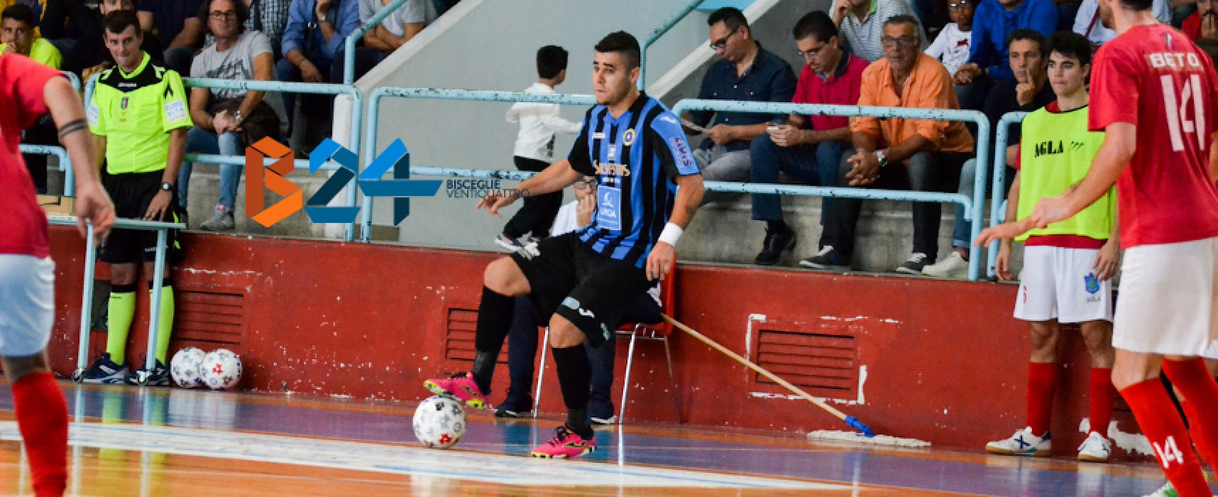 Arcadia ospita le scudettate del Montesilvano, Futsal Bisceglie con il Lamezia