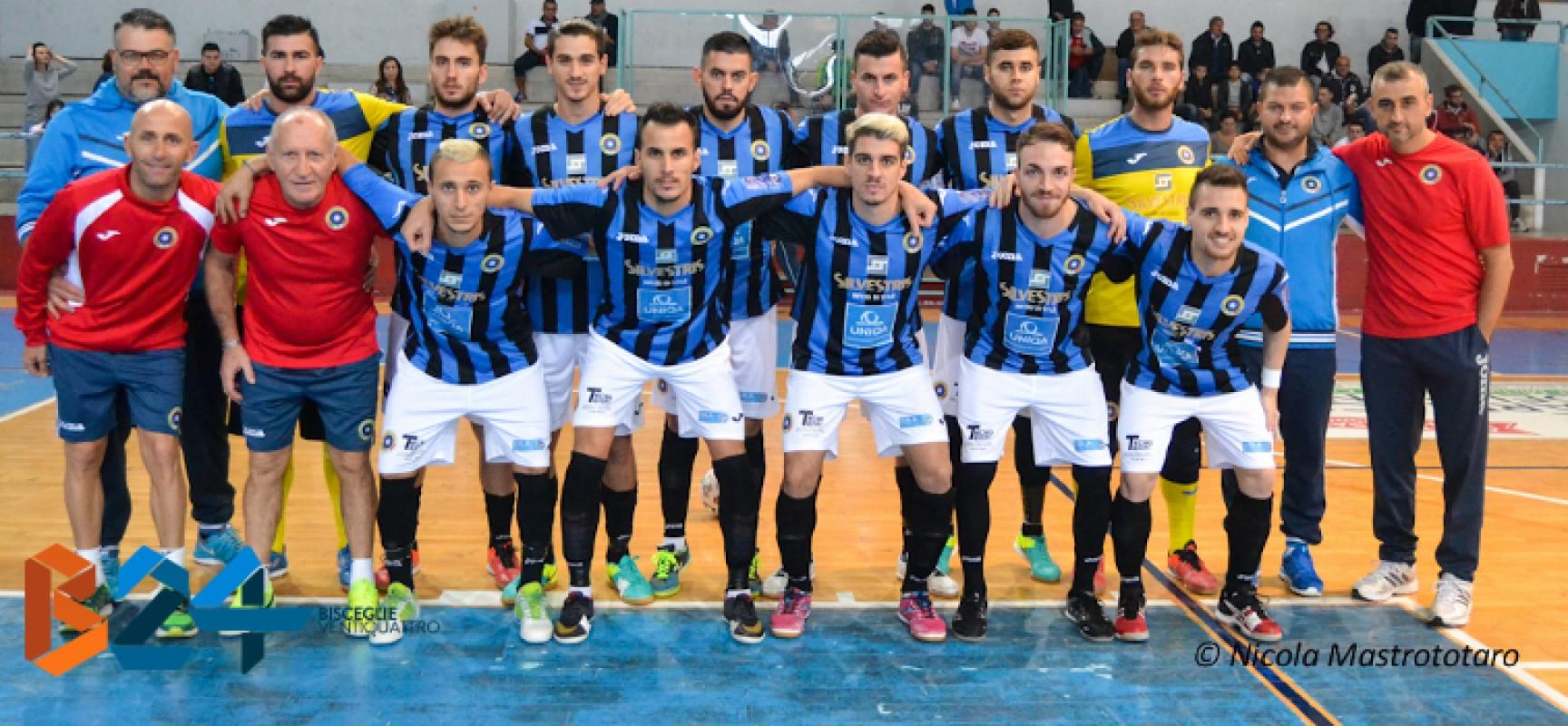 Catania corsaro al PalaDolmen, Futsal Bisceglie ko