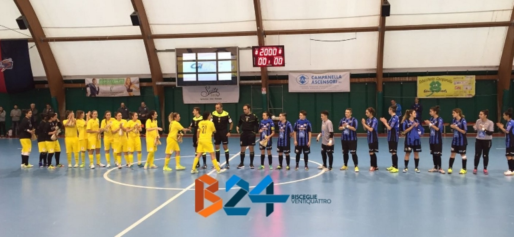 Annese-Zaccagnino ed il Futsal Bisceglie femminile batte il Martina / CLASSIFICA