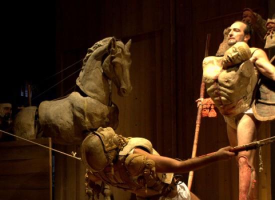 Questa sera allo Sporting Club di Bisceglie protagonista sarà l'Iliade