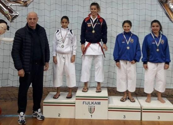 Karate: due medaglie di bronzo nella 4^ tappa del Trofeo Puglia 2016