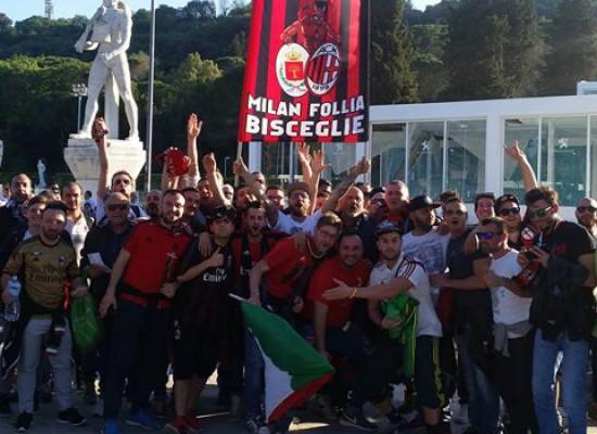 """Bisceglie conquista il """"San Siro"""", club Milan Follia sul periodico rossonero in occasione del derby"""