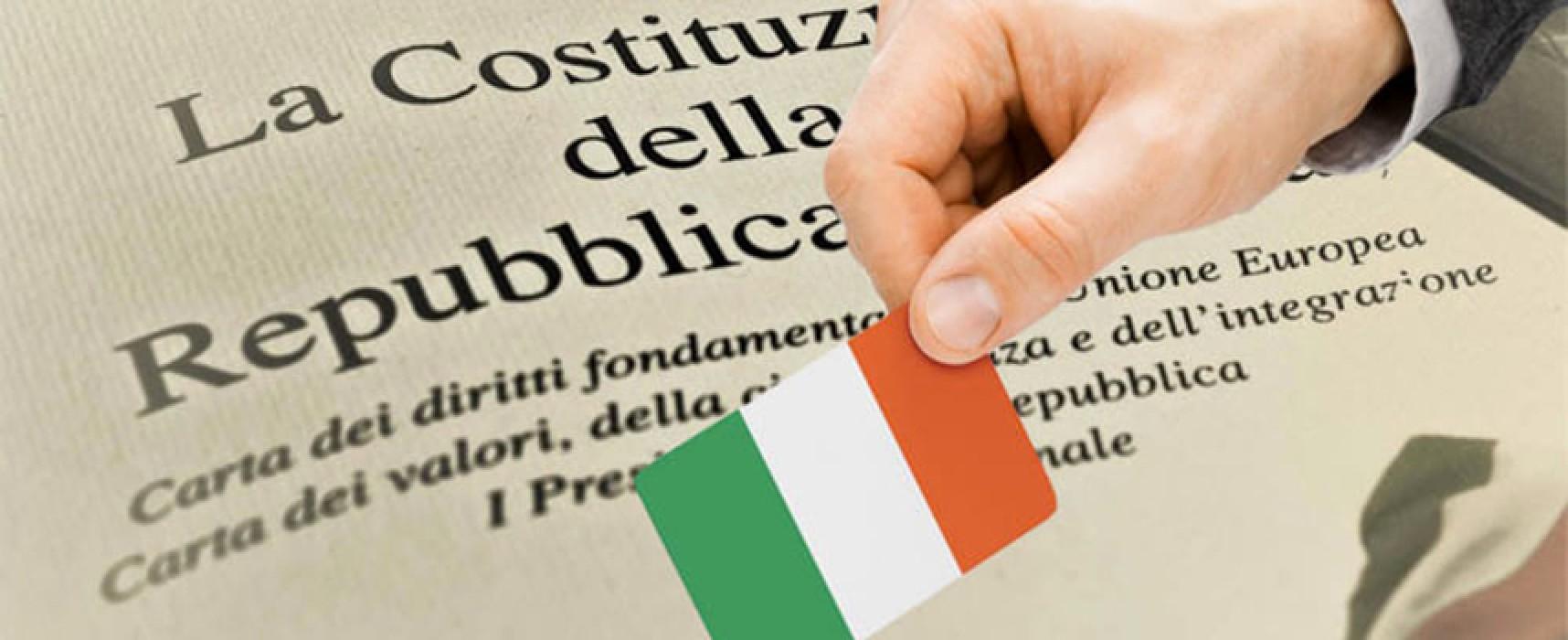 """Comitato Italia Migliore Bisceglie: """"Riforma costituzionale una finestra aperta sul futuro"""""""
