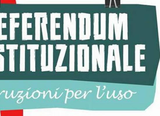 """""""Referendum costituzionale Istruzioni per l'uso"""" incontro per comprendere le ragioni del Sì e del No"""