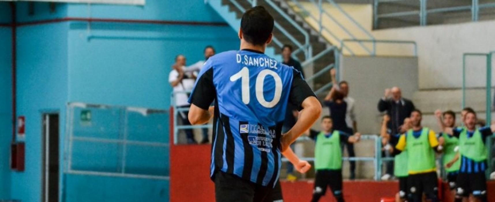 Futsal Bisceglie, tre squilli per superare il Catania