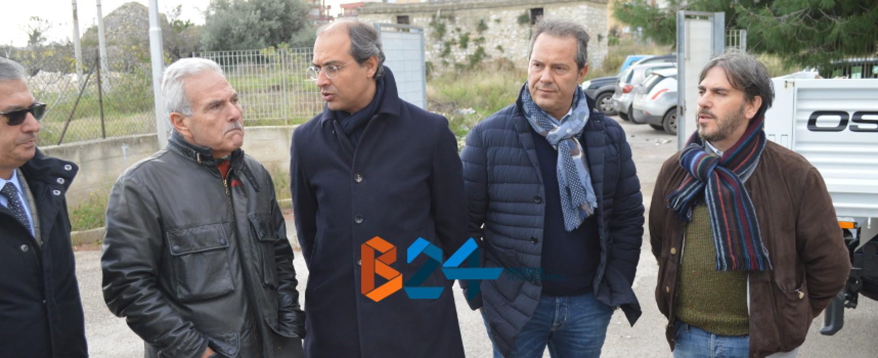 """Scuola """"Cosmai"""", Provincia stanzia 650mila euro per manutenzione, Spina e Giorgino danno il via ai lavori"""
