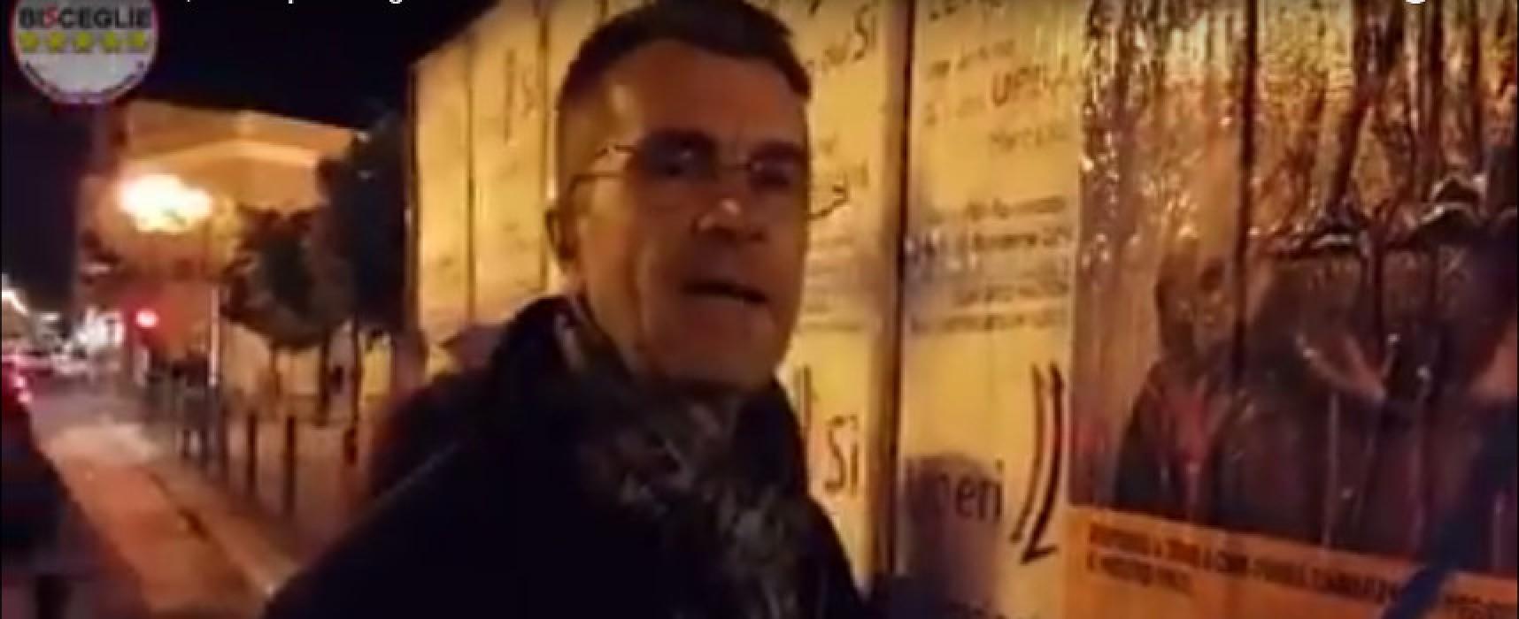 Referendum, meetup Bisceglie 5 Stelle denuncia con un video le affissioni abusive