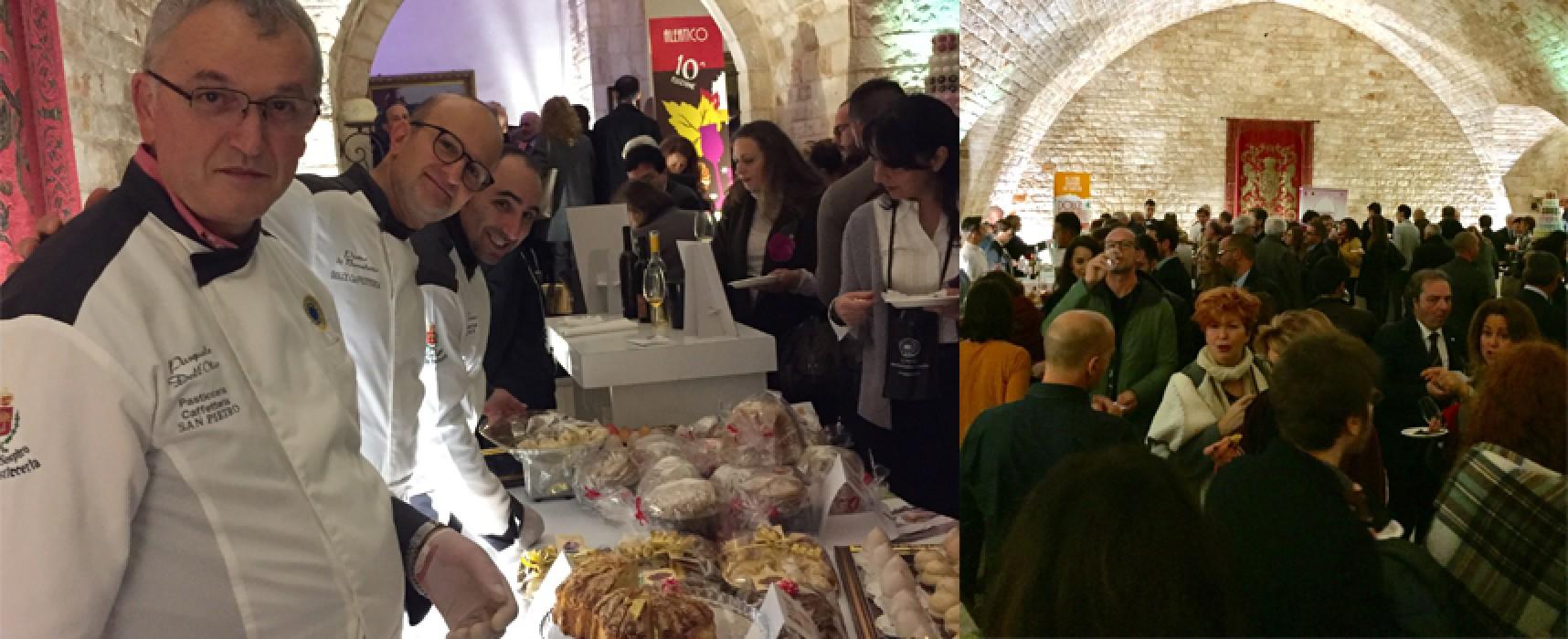 Il sospiro di Bisceglie a Dolce Puglia insieme ai dolci della nostra tradizione