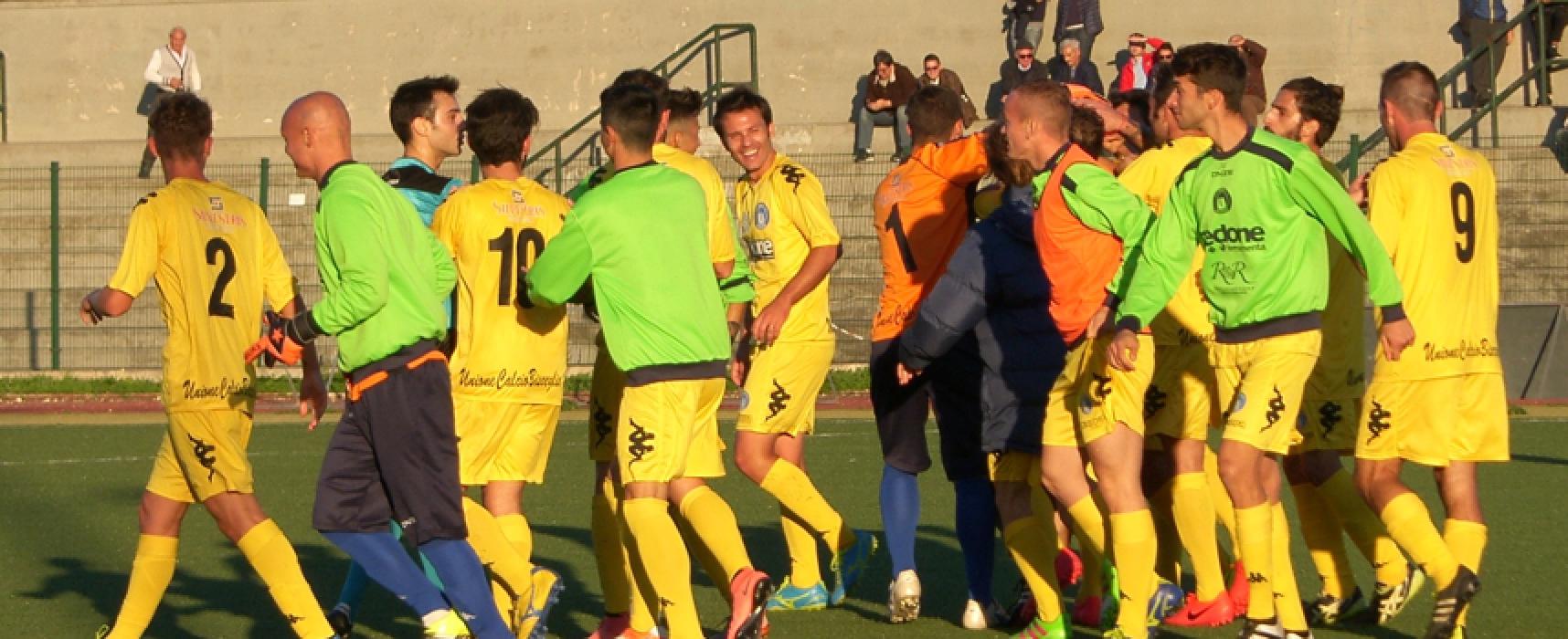 Unione Calcio, insolito sabato di campionato: azzurri a Grottaglie contro l'Hellas Taranto