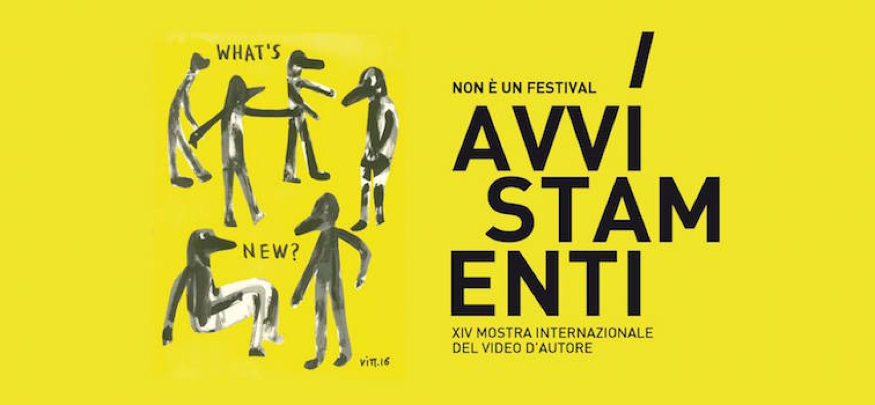Avvistamenti: il 27 prende il via la quattordicesima edizione della Mostra del Video d'Autore