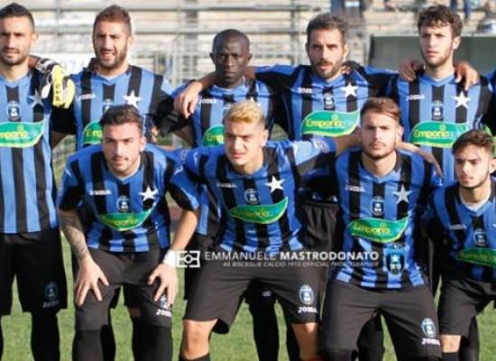 Bisceglie Calcio, c'è voglia di rivalsa: domani sfida alla Vultur Rionero