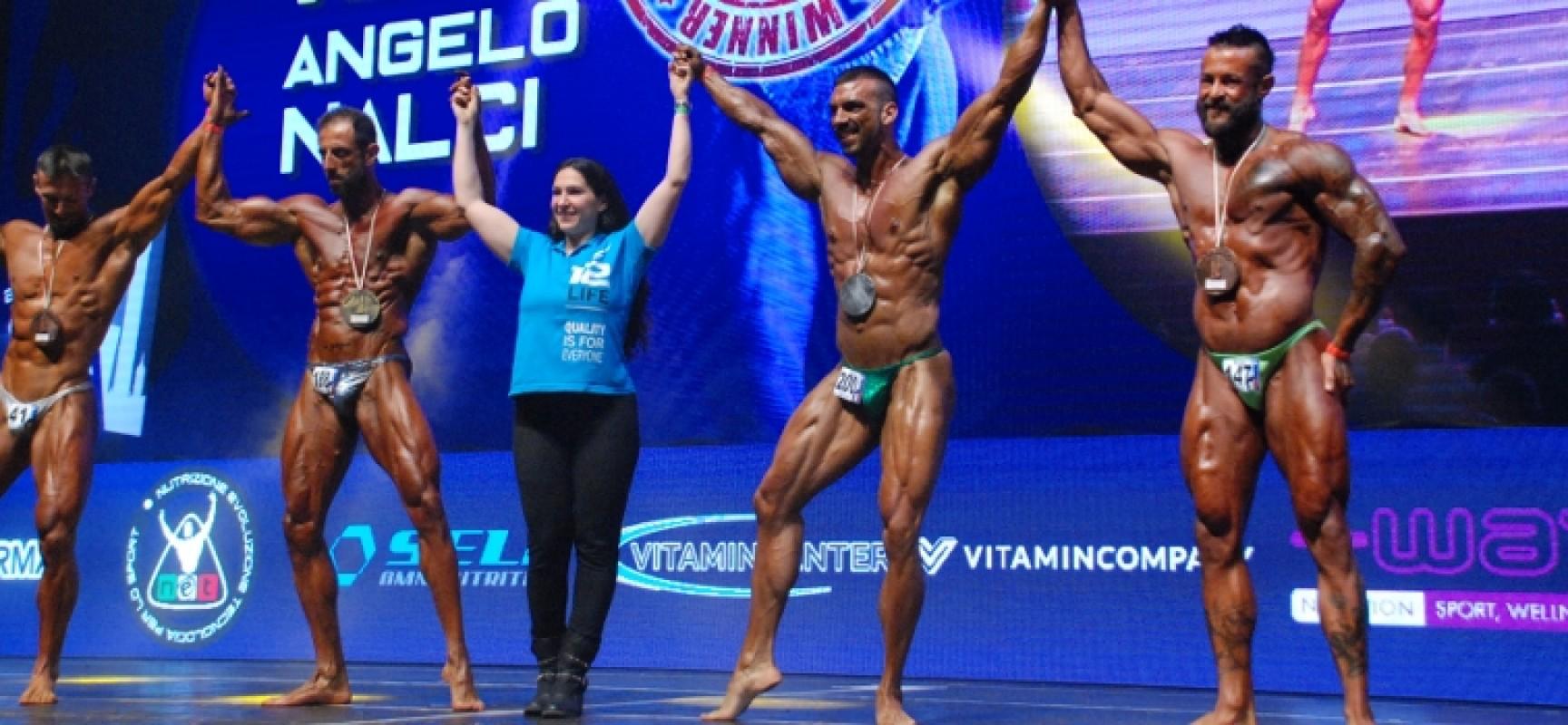 """Body building, Paky Dell'Olio a podio nel """"Grand Prix Due Torri"""""""