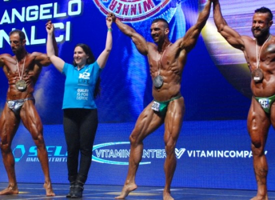 "Body building, Paky Dell'Olio a podio nel ""Grand Prix Due Torri"""