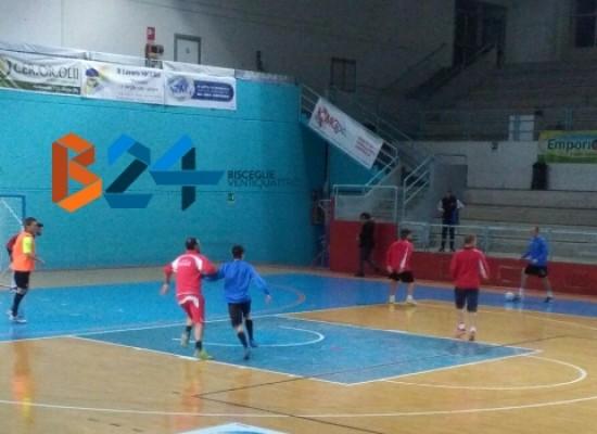 Al Futsal Bisceglie il test amichevole con la Diaz