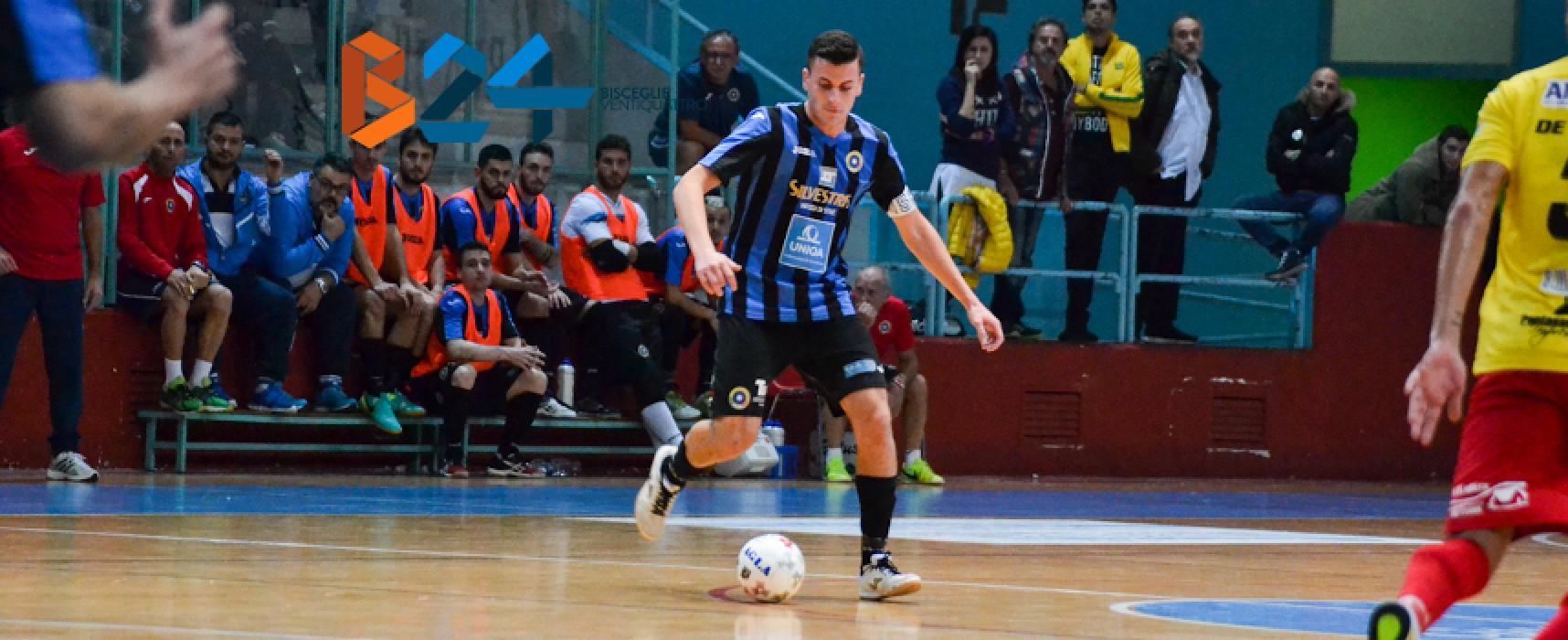 Il Futsal Bisceglie cede Montelli al Giovinazzo