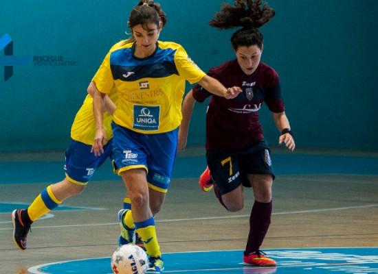 Futsal Bisceglie femminile, 4 gol a Policoro e terzo posto / CLASSIFICA
