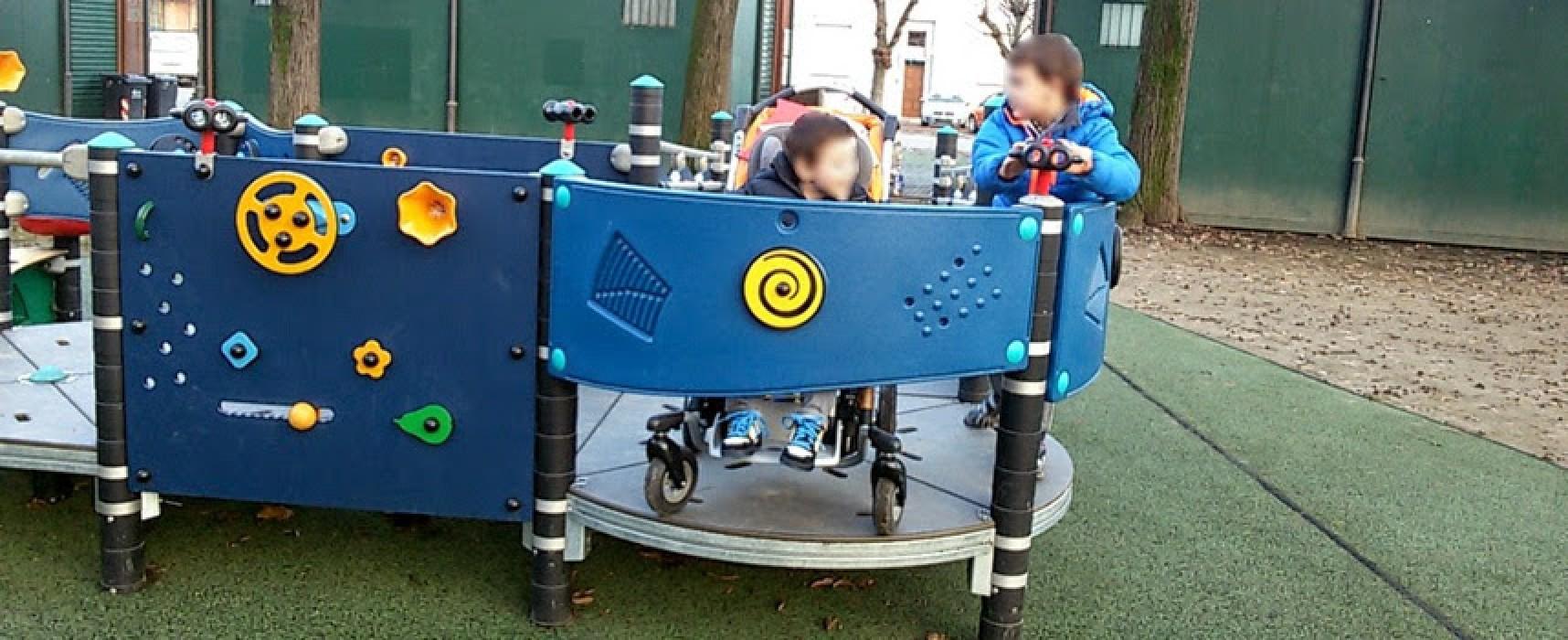 Meetup Bisceglie 5 Stelle chiede adeguamento parchi giochi per bambini disabili