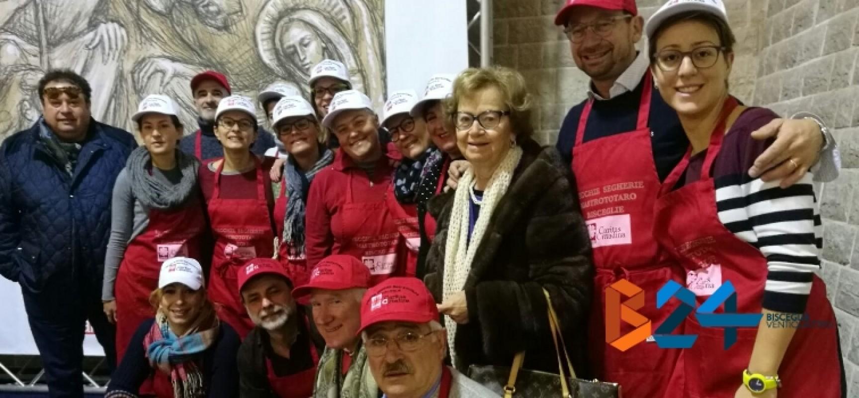 La Caritas cittadina avvia i preparativi per il pranzo di Natale
