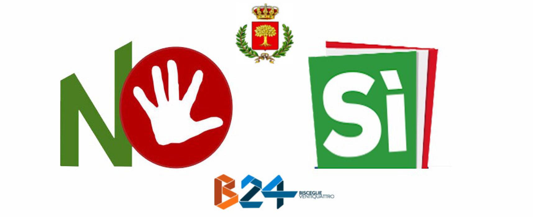 Referendum costituzionale, i dati definitivi della città di Bisceglie
