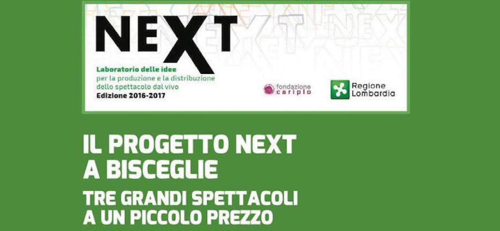 Progetto Next, tre spettacoli a prezzo speciale al Garibaldi per promuovere nuove compagnie