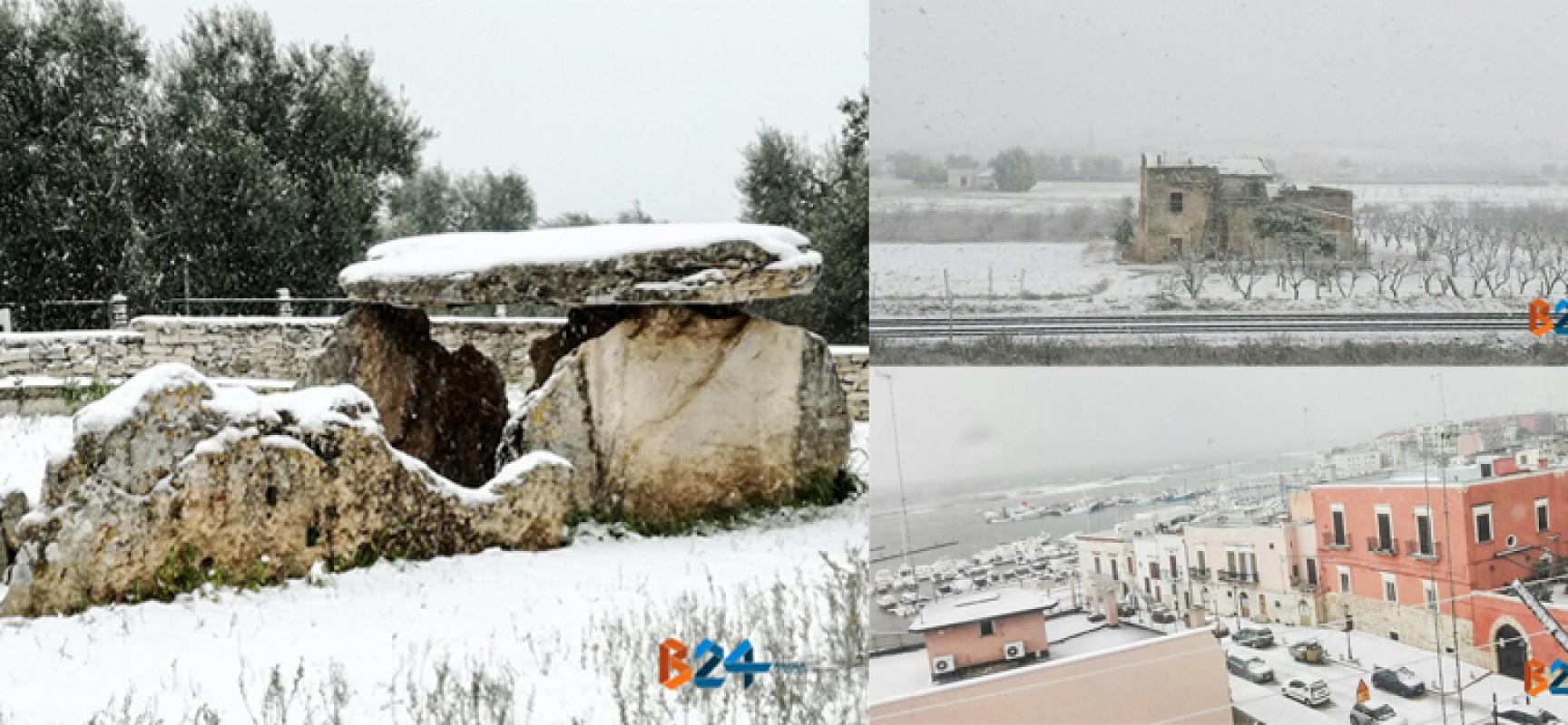 Maltempo: neve anche a Bisceglie / PHOTOGALLERY