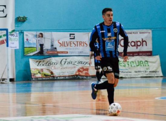 Futsal Bisceglie, pari e rimpianti a Sammichele