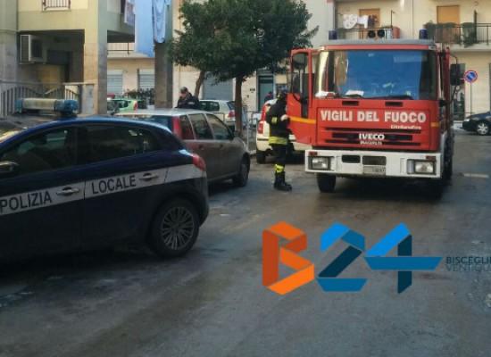 Anziana cade e resta bloccata in casa, intervenuti vigili del fuoco e polizia municipale