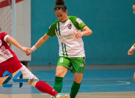 Prima vittoria in A Elite per l'Arcadia, tre punti anche per il Futsal Bisceglie Femminile