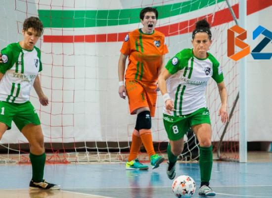 Obiettivo primi punti stagionali per Arcadia, turno di riposo al Futsal Bisceglie Femminile