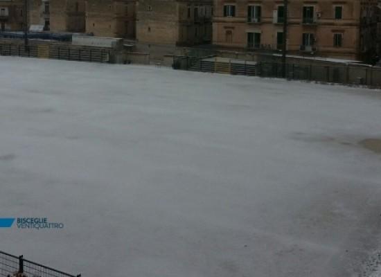 """Neve su Bisceglie, rinviato il torneo giovanile """"Memorial Lucio Palazzo"""""""