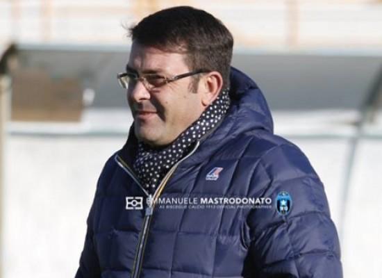 """Bisceglie calcio, il presidente Canonico:  """"Bilancio sinora fortemente positivo"""""""