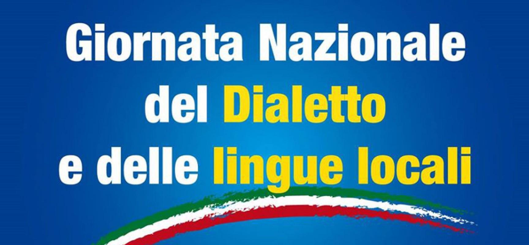 Giornata del dialetto e delle lingue locali, come segnalare le iniziative per l'edizione 2021