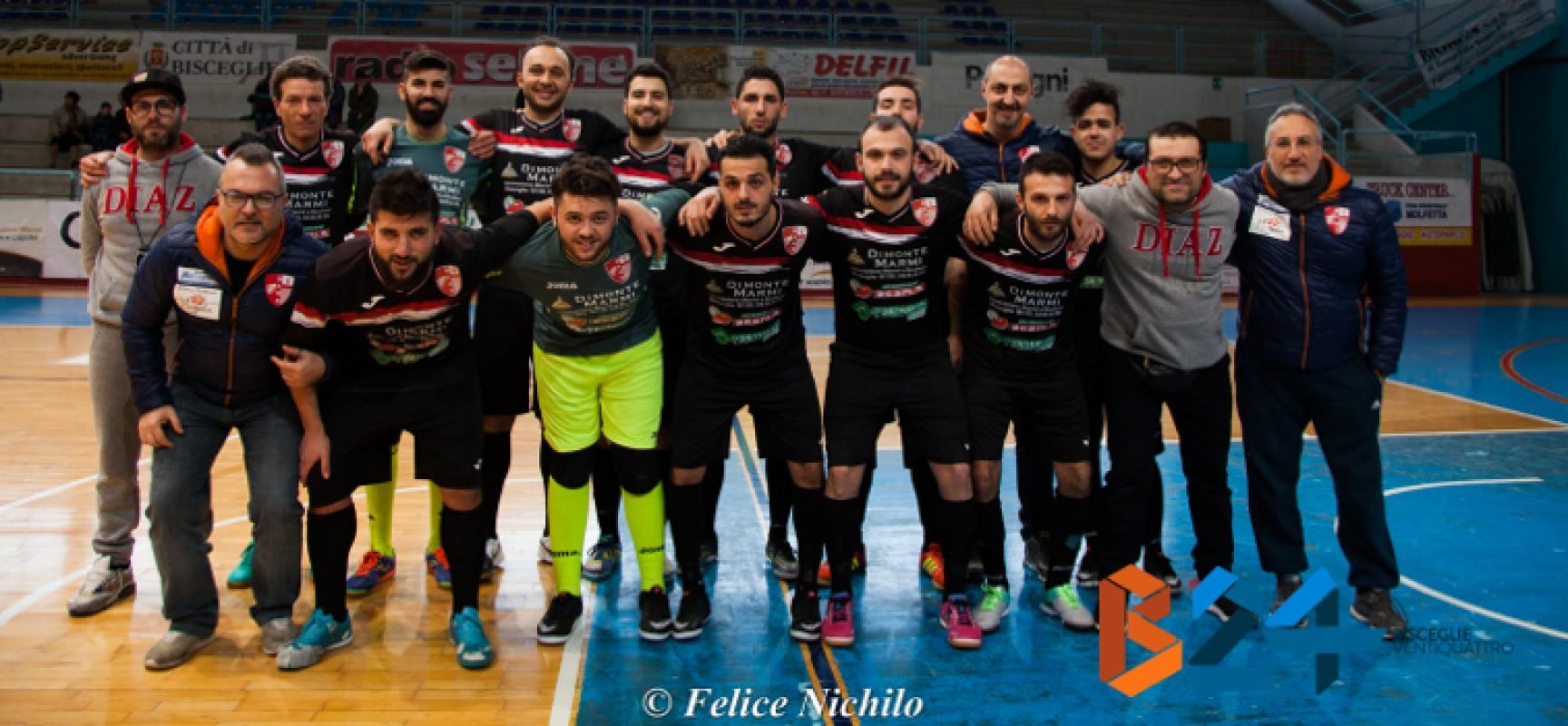 Futsal serie C1: trasferte impegnative per Diaz e Nettuno