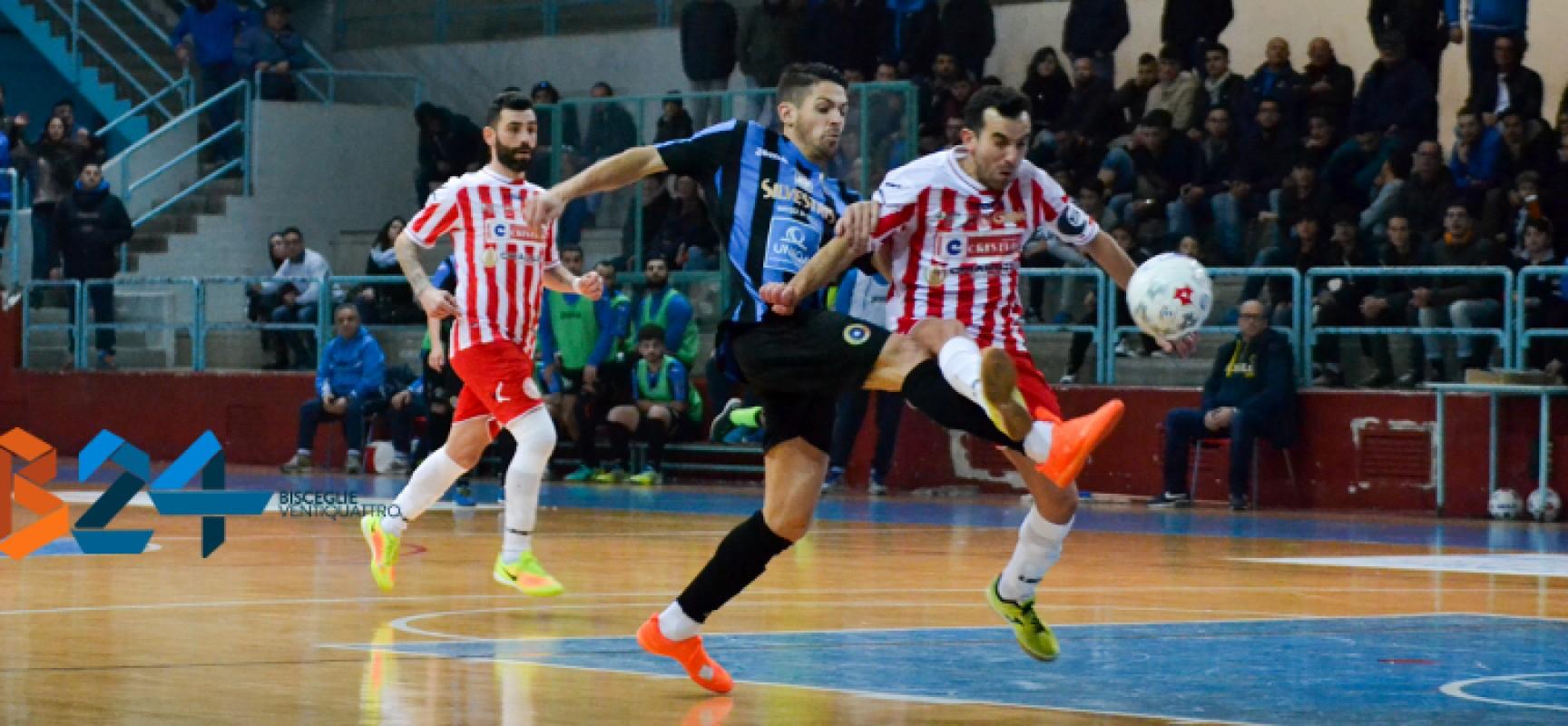 Futsal Bisceglie: ancora segno x, fermato in casa dal Cristian Barletta