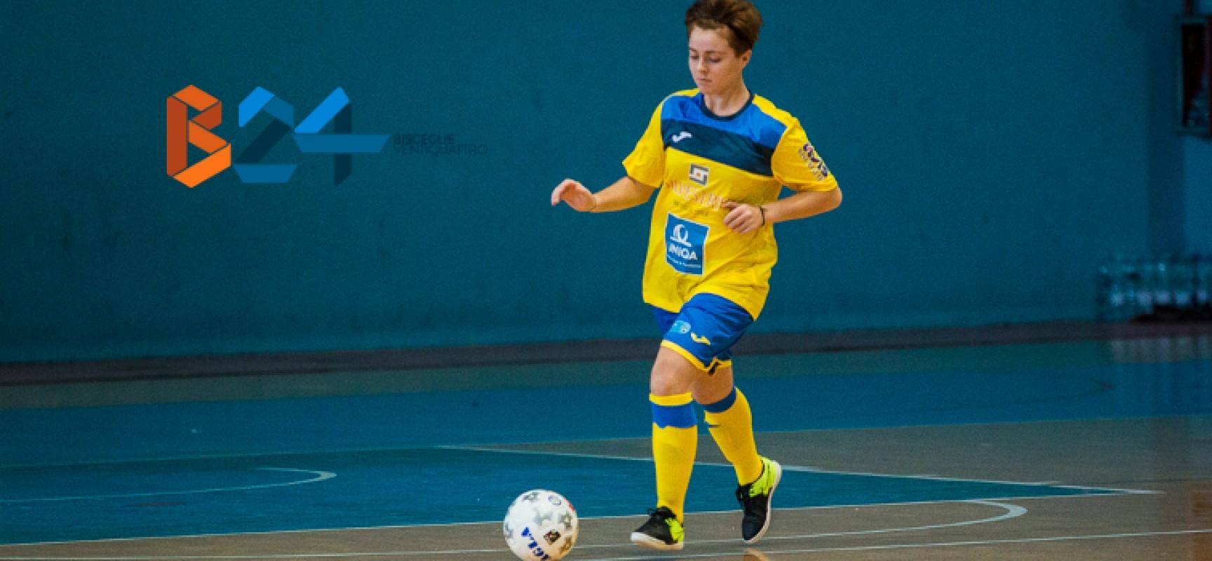 Futsal Bisceglie femminile, vittoria thrilling contro il Cus Cosenza / CLASSIFICA