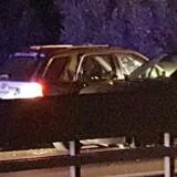 Incidente sulla statale 16: tre auto coinvolte, due feriti / FOTO
