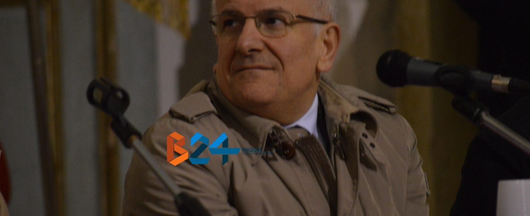 Il segretario generale Lazzaro si trasferisce a Trani