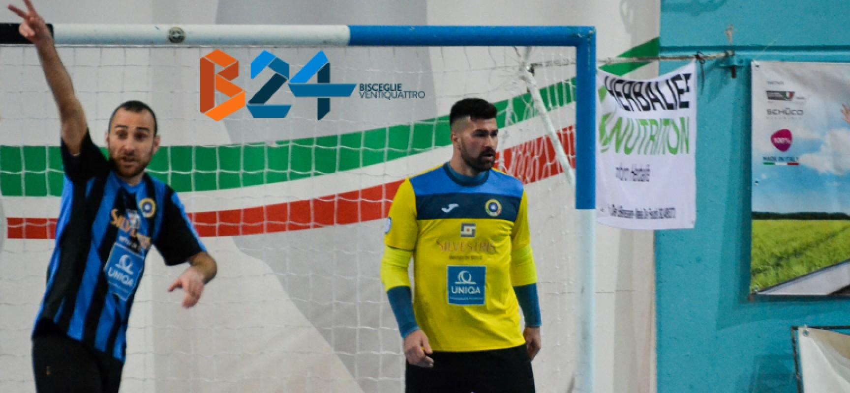 """Futsal Bisceglie in emergenza a Sammichele, Lopopolo:""""Sarà battaglia sportiva"""""""