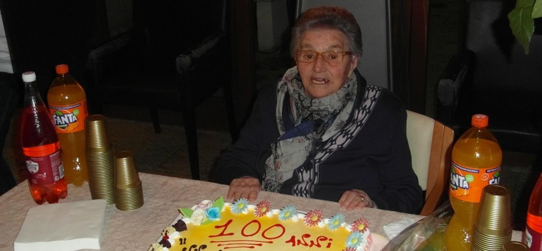 Una vita lunga un secolo: la biscegliese Lucrezia Mastrodonato ha spento ieri cento candeline