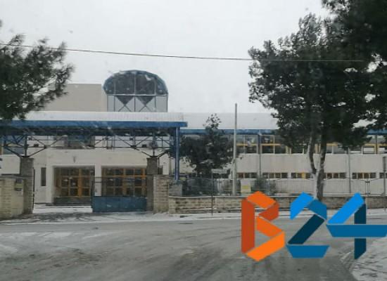 Scuole chiuse a Bisceglie lunedì 9 gennaio
