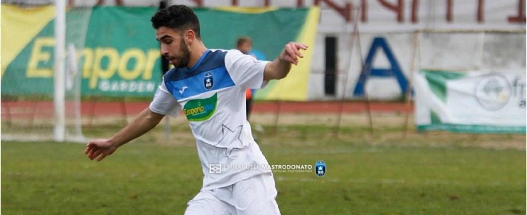 Montinaro-gol, il Bisceglie espugna Rionero e torna al successo
