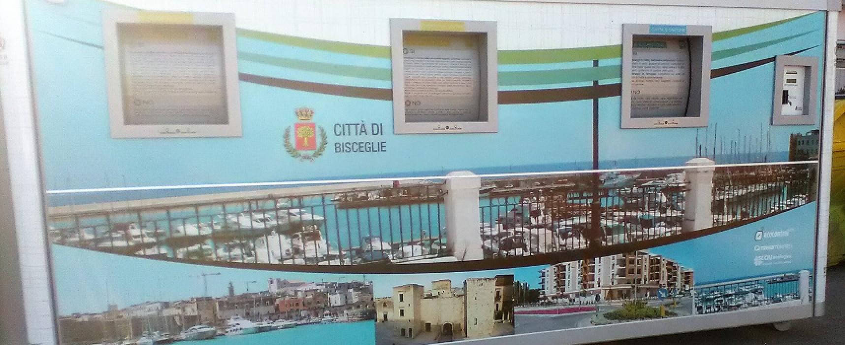 Otto isole ecologiche mobili per la raccolta dei rifiuti a Pasquetta / DETTAGLI