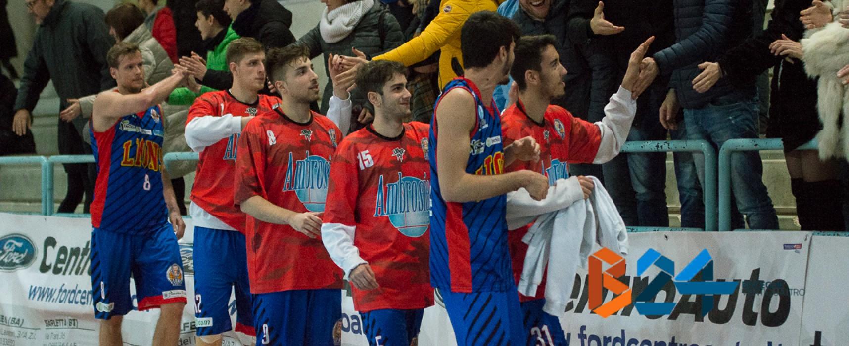 Lions Basket, in casa con Porto Sant'Elpidio per tornare subito a vincere