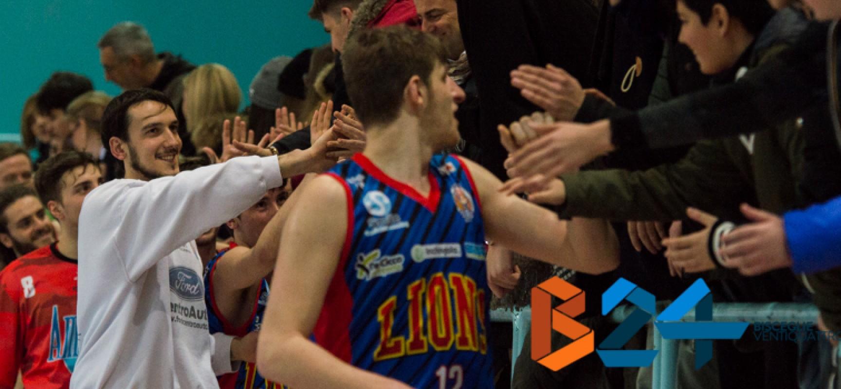 Lions Basket, complessa sfida a Pescara per consolidare il secondo posto