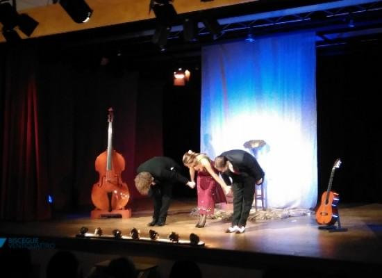 """""""Uno&Trio"""": trionfo del """"Varietà"""" al teatro """"Don Luigi Sturzo"""""""