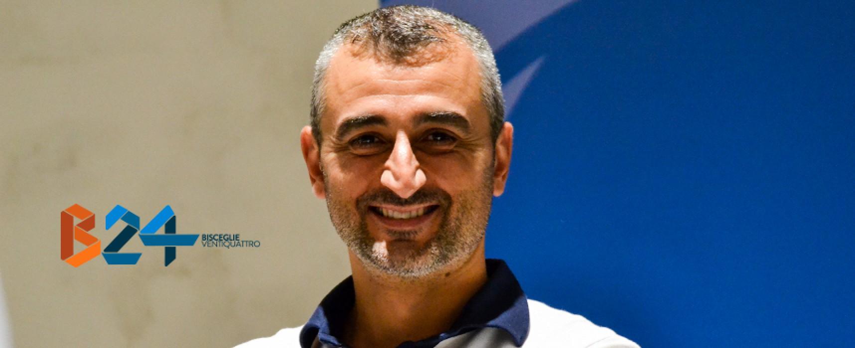 Ufficiale: termina il rapporto tra Futsal Bisceglie ed il tecnico Francesco Ventura