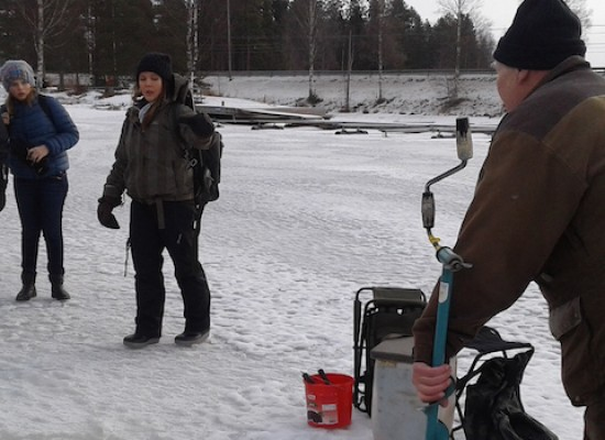 """I ragazzi della """"Monterisi"""" in Finlandia per il progetto Erasmus Plus / FOTO"""